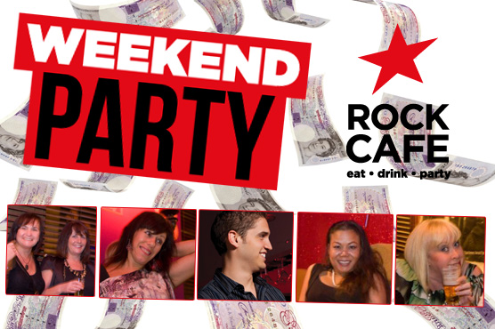 Pay day party at the rock huddersfield