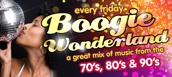 Boogie Wonderland at the rock cafe